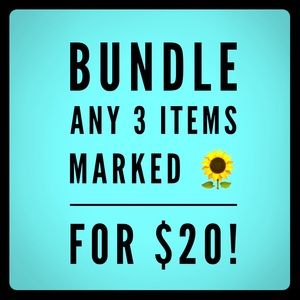🌻 3 Items for $20!
